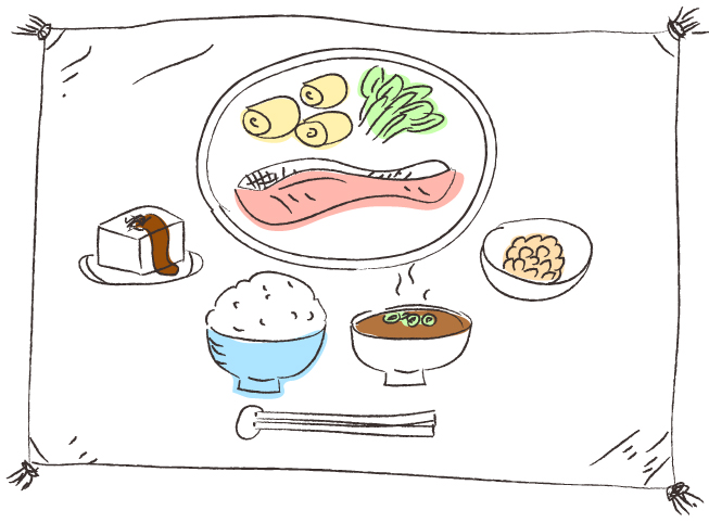 食事のミネラル量